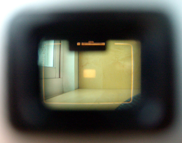 viewfinder of Olympus S CdS .JPG