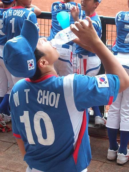 韓國隊強棒崔原泰