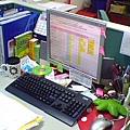 惠婷的辦公桌