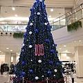 環球購物中心室內聖誕樹