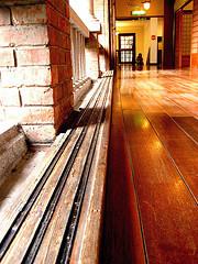 二樓的走廊