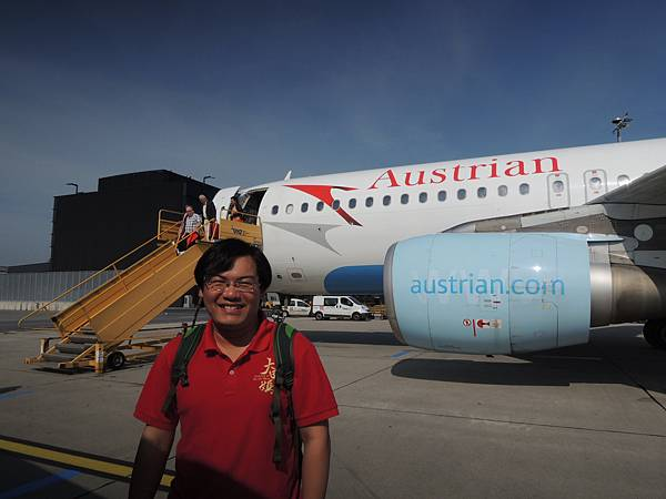 2016-4 蘇黎世維也納奧地利航空