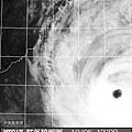 黑白衛星雲圖