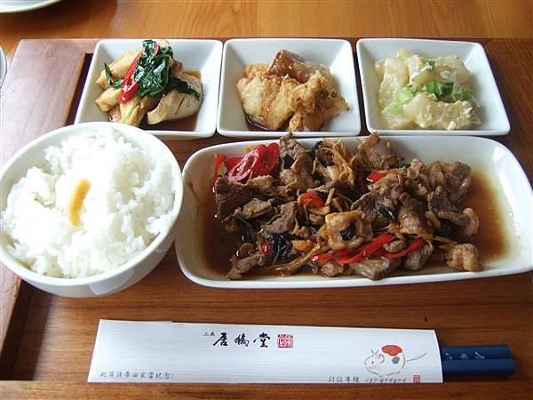 客家紫蘇鴨肉套飯