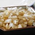 招待的小菜  涼拌洋蔥