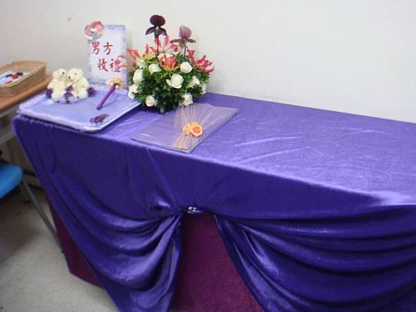 李清海花藝教室-婚禮佈置課程-收禮桌佈置 (3).JPG
