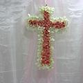 證婚儀式佈置-十字架花飾