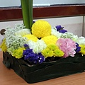 2009會場佈置班-餐桌花設計.JPG