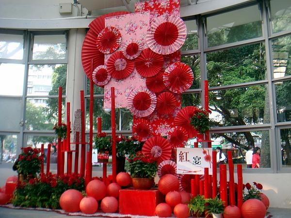 2011青年公園花藝展李清海設計師 (2).JPG