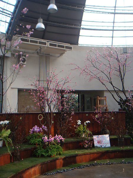 2011青年公園花藝展李清海設計師 (19).JPG