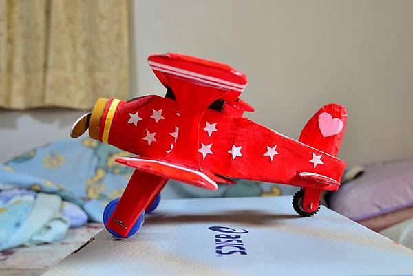 立體美勞-雙翼飛機 (2)