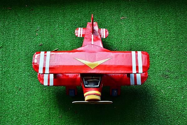 立體美勞-雙翼飛機 (8)