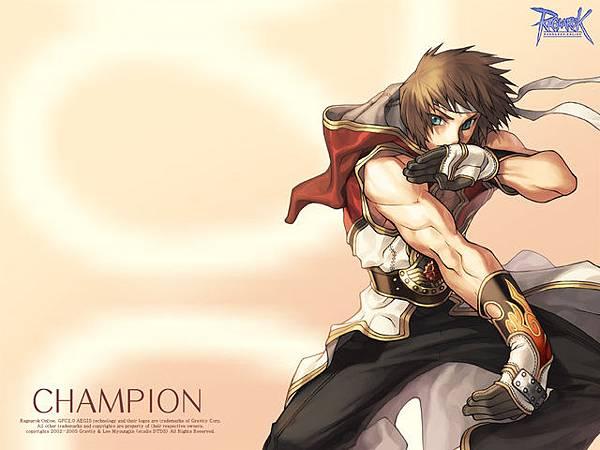 仙境傳說裡的男武鬥家