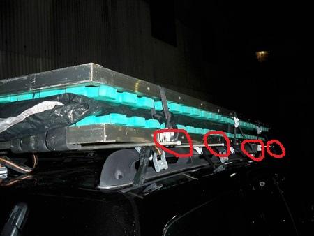 車頂帳之底板+鋁管