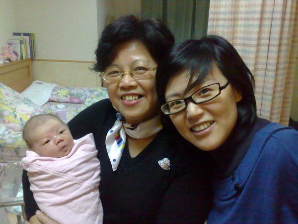 奶奶跟姑姑