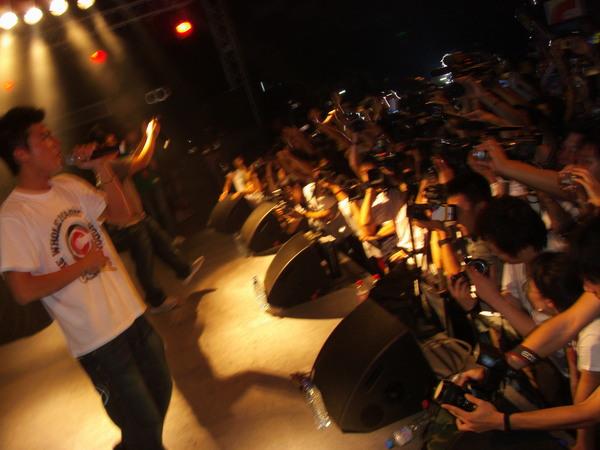 fans party