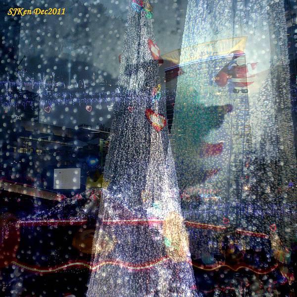 2011.12.17 新北市政府前全台最高耶誕樹周遭街景01