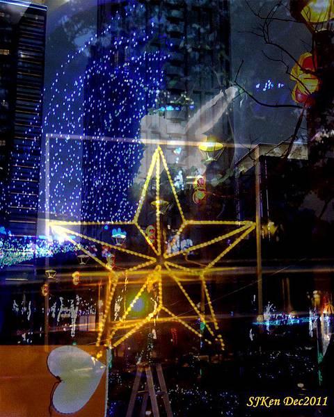 2011.12.17 新北市政府前全台最高耶誕樹周遭街景06