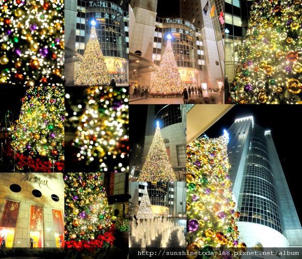 2010-12-19 統一阪急跟遠企百貨耶誕裝飾1.JPG