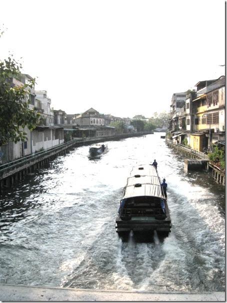 老曼谷區的水上交通