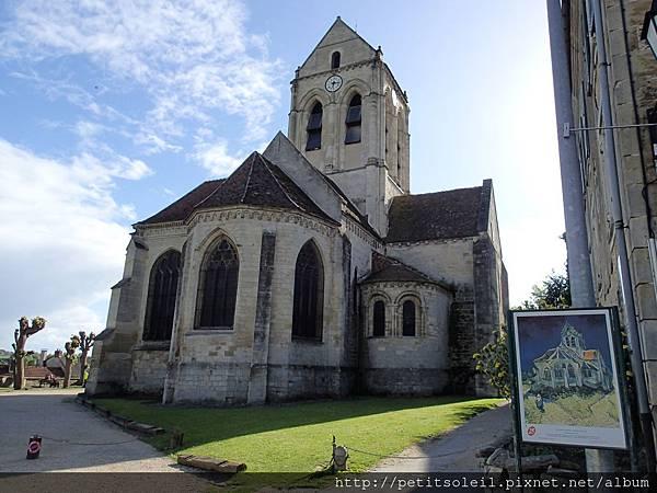 Auvers 教堂