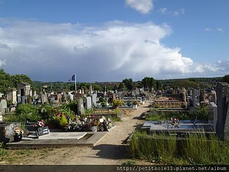 Auvers--墓地