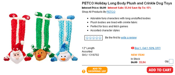 PETCO Holiday Long Body Plush and Crinkle Dog Toys  page.jpg