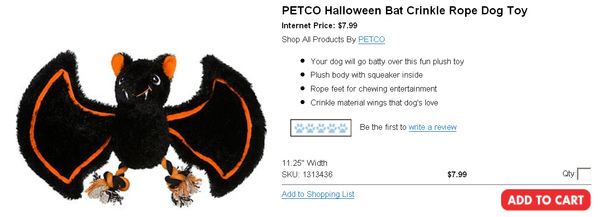 PETCO Halloween Bat Crinkle Rope Dog Toy.jpg