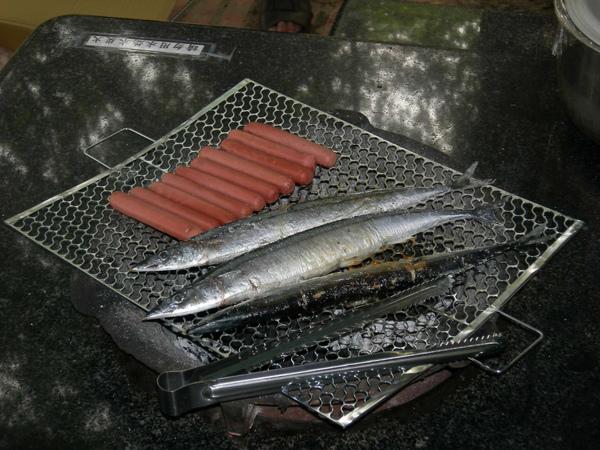 熱狗和秋刀魚