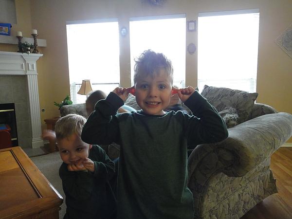 老三Caden,四歲