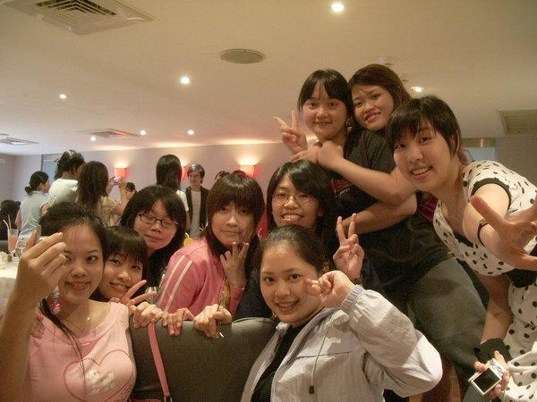 2006夏。期末聚餐