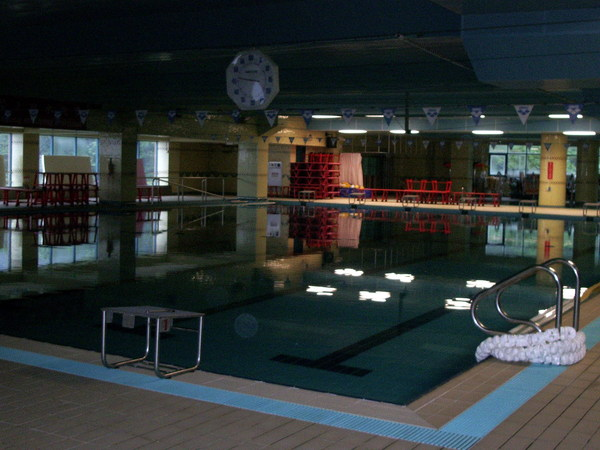 溫水游泳池
