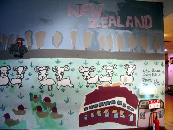 紐西蘭有很多綿羊啊?