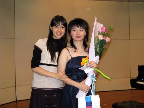 2007.11.24簡瑪莉的畢音圓滿落幕