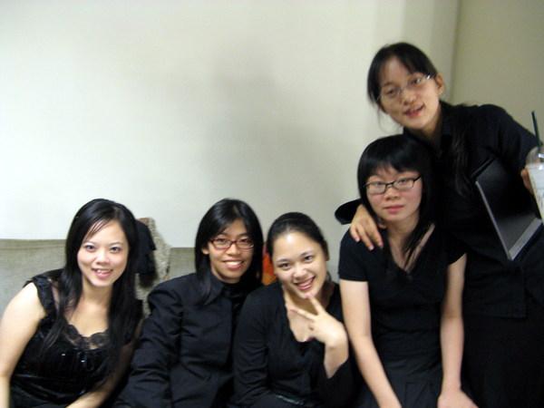 2007冬。大學最後一次的校慶音樂會