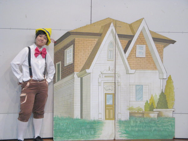 莊小俐同學2007年最新作品《新 木偶奇遇記》第一次總綵排