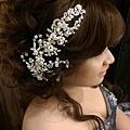 peggy wu甜蜜冒險 新娘髮型