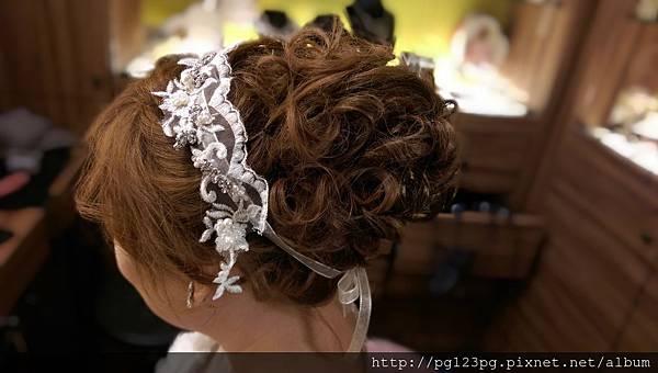 peggy wu甜蜜冒險 新娘髮型作品