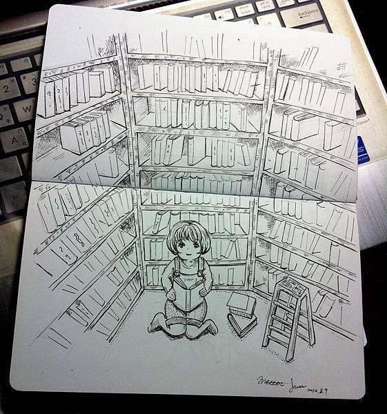 我也想要大書房!
