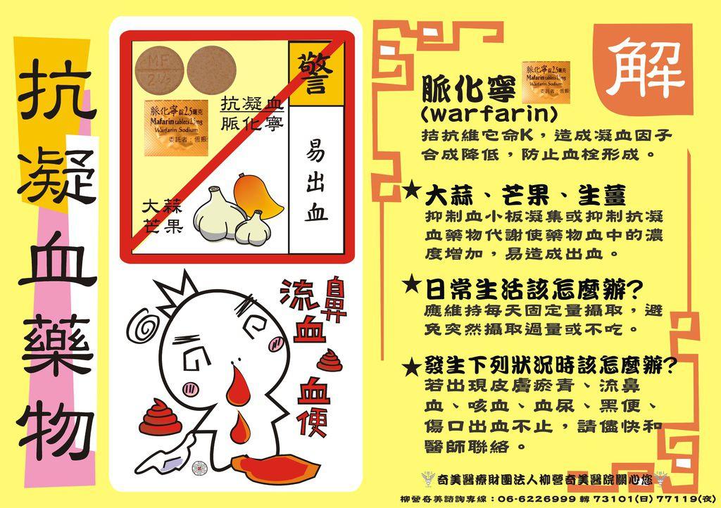 warfarin-蒜