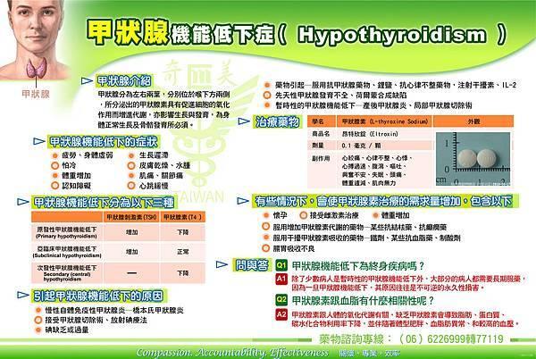 稚諺-甲狀腺機能低下症(Hypothyroidism)10009