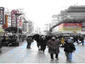 步行街街景