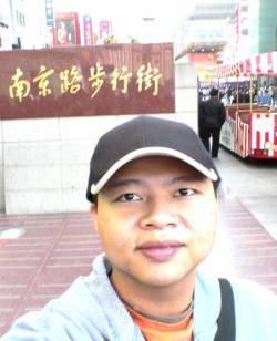 南京路步行街前