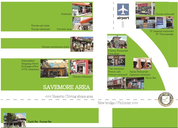 savemore + gaisano map 1