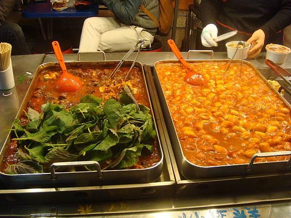 辣炒年糕&韓式血腸