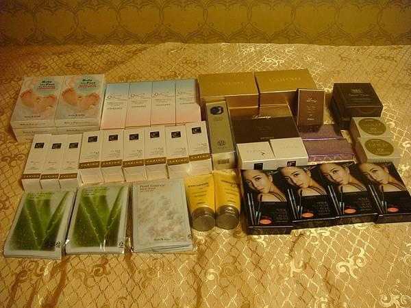 美妝店買的化妝品&保養品