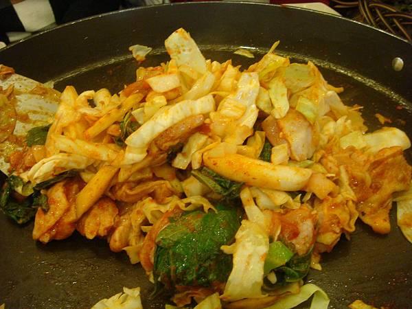 第二天午餐春川炒雞排&年糕