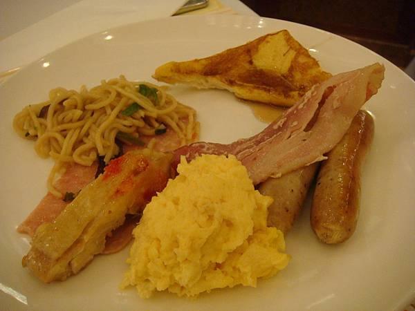 早餐-熱狗 培根