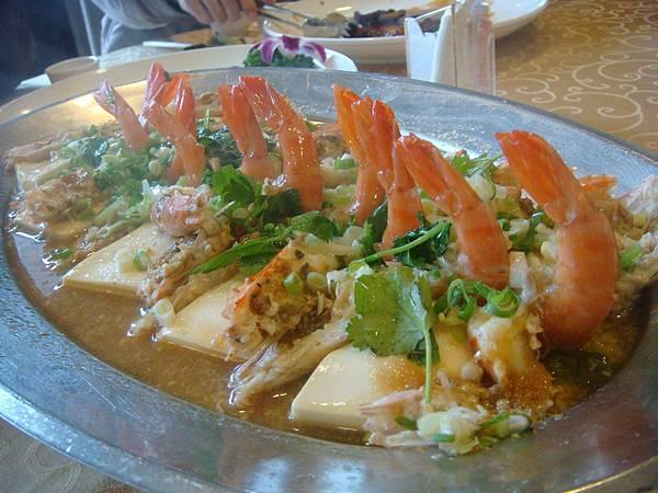 蒜泥蒸鮮蝦