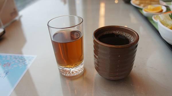 有機紅茶&熱咖啡
